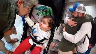 LAURA VÊ A VOVÓ PELA PRIMEIRA VEZ!! Chegamos no Brasil - Daily Vlog e Férias em Familia