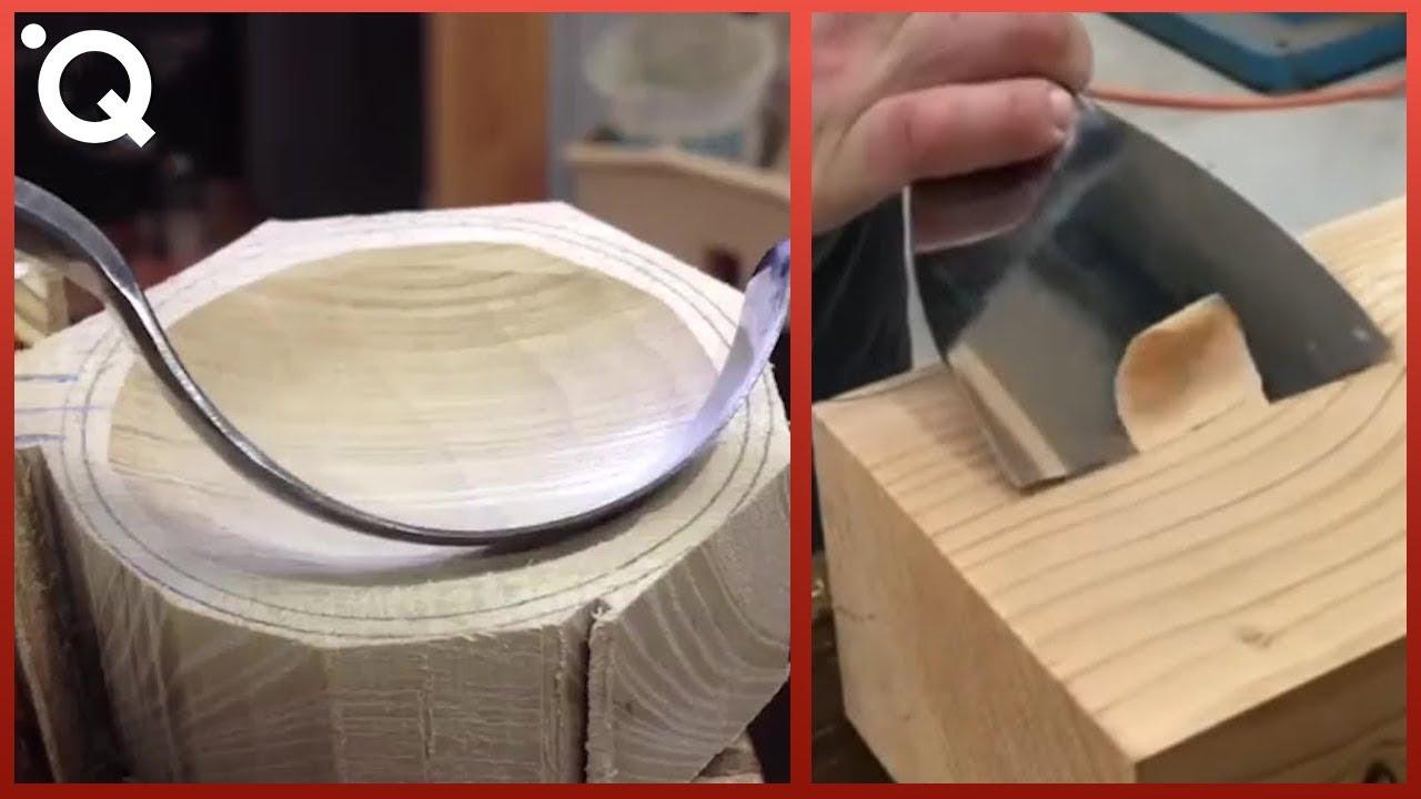 Най-Удовлетворяващите Техники За Оформяне На Дърво И Инструменти за Обработка На Дърво