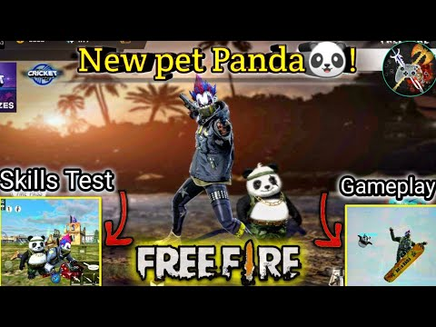 How to get New pet Panda in Free Fire, detective Panda full details& gameplay by DEATH RAIDER GAMING