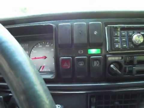 vw golf mkii golf 2 1.8 RP 90KM kody błyskowe check engine - YouTube
