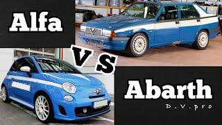 Alfa Romeo 75 vs Abarth 595 Competizione - I prossimi Test Drive