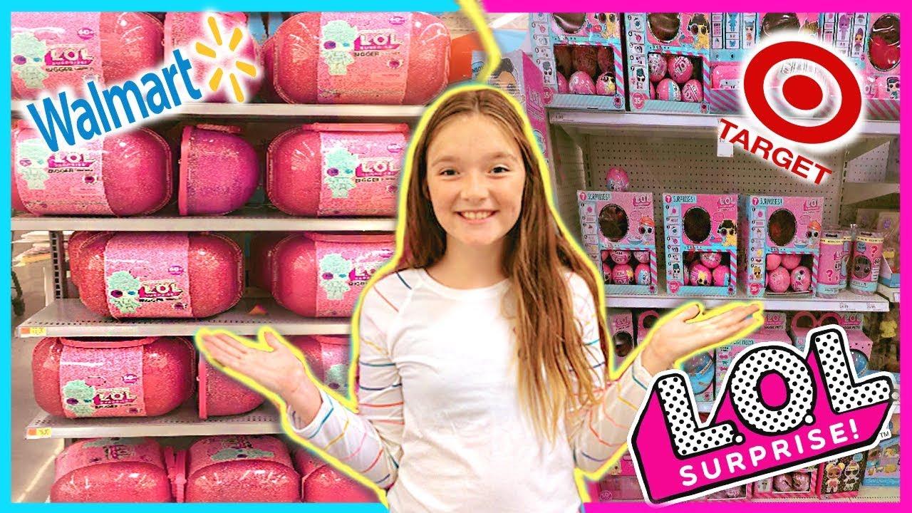 Walmart Vs Target Lol Doll Shopping Who Has More L O L
