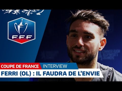 "Coupe de France, 1/4 de finale : Jordan Ferri ""Il faudra de l'envie"", interview I FFF 2018"