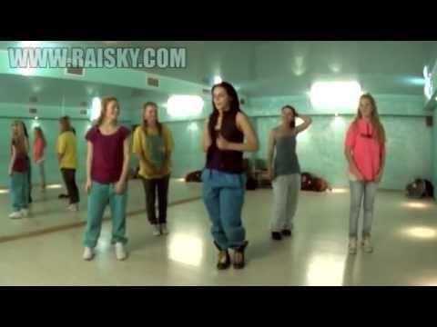 Урок по хип-хоп от Ольги Карпуховой.