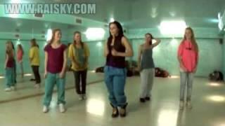 Урок по хип-хоп от Ольги Карпуховой.(RaiSky! Онлайн урок по хип хоп от Ольги Карпуховой., 2010-12-30T09:41:26.000Z)