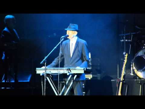 Leonard Cohen: Tower of Song 15.09.2013  The O2 London