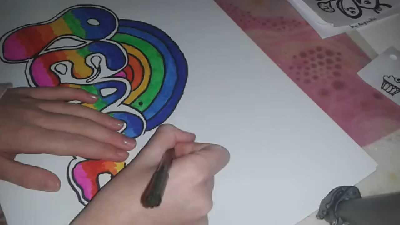 How to graffiti tekenen stap voor stap youtube for Koivijver bouwen stap voor stap