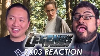 """DC's Legends of Tomorrow 2x03 Reaction and Review """"Shogun"""""""