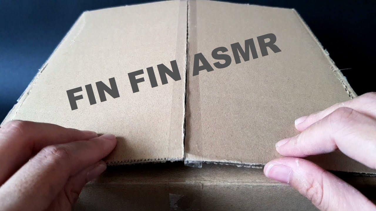 ASMR | FIN FIN BOX CRUMBLE! #297