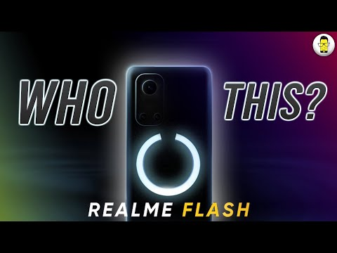 Realme Flash Coming Soon With iPhone 12 Like Feature!⚡️