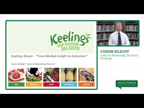 Bord Bia Brand Forum Knowing your Target Audience - Conor Kilduff, Keelings