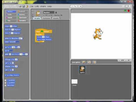 SCRATCH - How to make characters randomly move around - YouTube