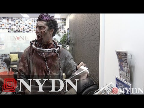Zombie invades New York Daily News office