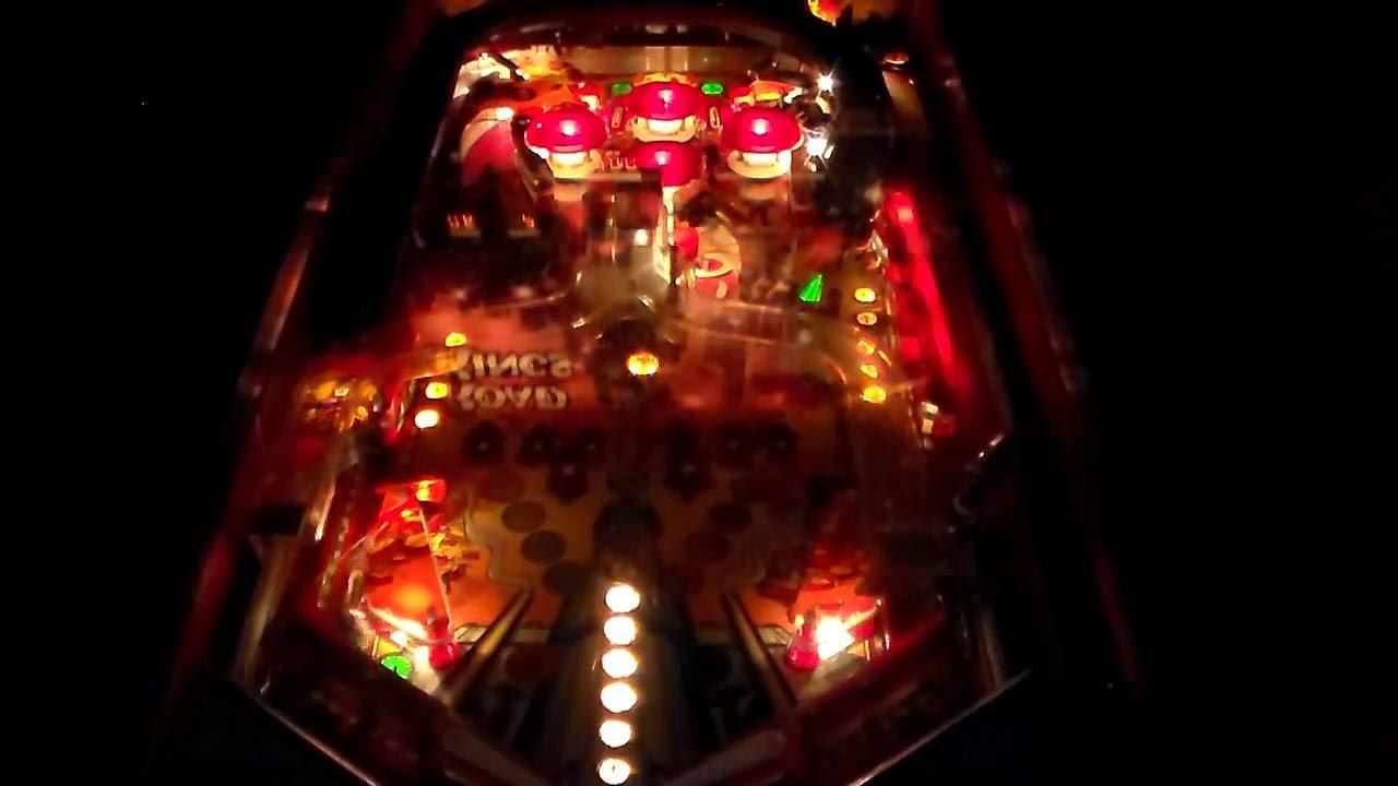 Williams Road Kings Pinball Machine from 1986 - Gameplay, Artwork, Game  Design
