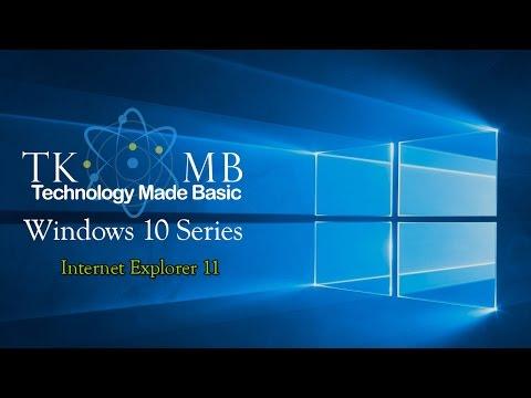 Internet Explorer 11 on Windows 10