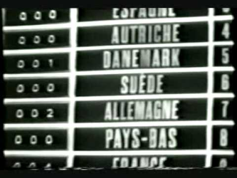 Eurovision 1962 - Voting Part 1/2