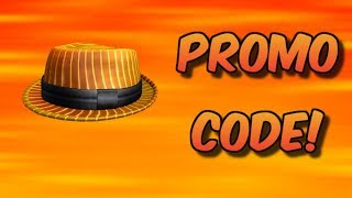 *NEW* FIRESTRIPE FEDORA PROMOCODE FEBRUARY 2019! (Roblox)