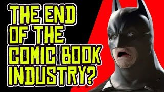 DC Comics and Marvel Will STOP Making New Comic Books?!