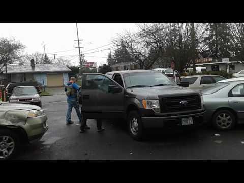 US MARSHALS hit car