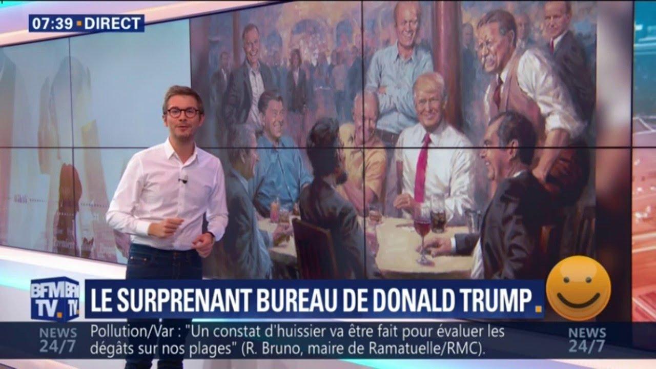 LA PÉPITE - Le nouveau tableau de Trump dans son bureau à la Maison Blanche