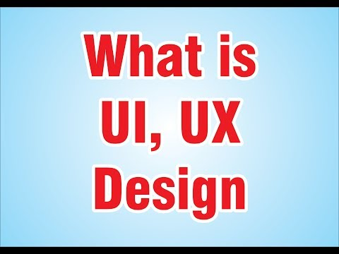 what is UI UX design for beginners