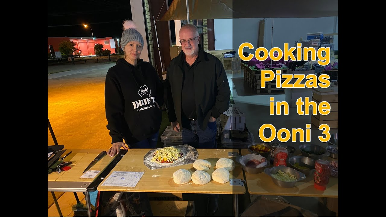 Making Pizzas with the Ooni Oven