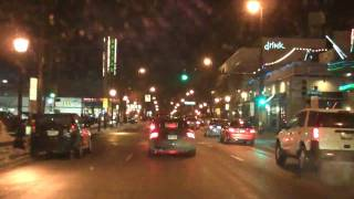 Lake Street & Hennepin Night Drive