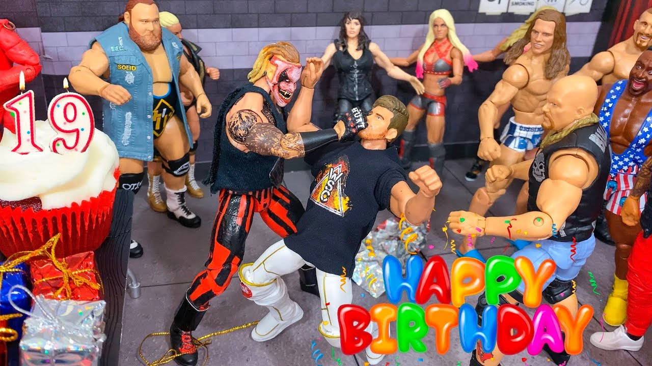 THE FIEND CRASHES MY BIRTHDAY PARTY!
