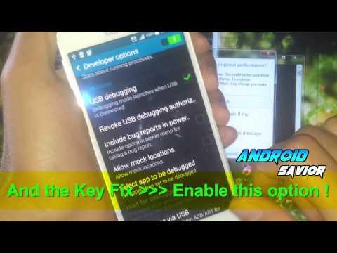 How To Fix ADB Devices Offline - ADB Device Listed As Offline In Adb Devices