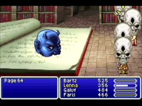 Final Fantasy V - Page 64 - YouTube