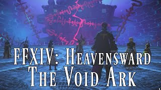 ffxiv heavensward void ark raid first look overview ffxiv gameplay commentary