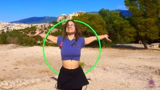 A song of three mantras - Hoop Dance