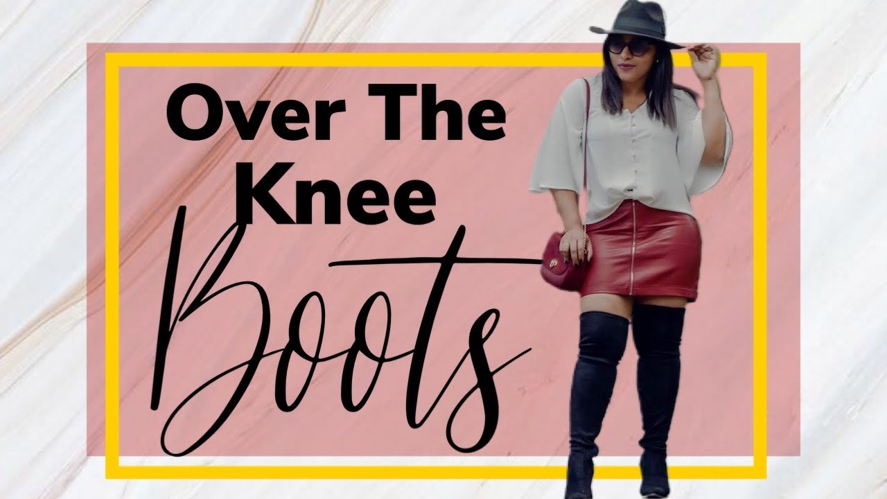 Fall Outfit Ideas With Over The Knee Boots #FallFashion 6