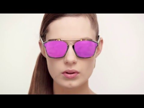 Dior Abstract Glasses Autumn Winter 2015 16 - YouTube 588939e2b0cd
