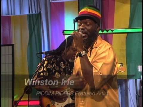 REGGAE RIDDIM RIDERS -  Winston Irie at LMC-TV