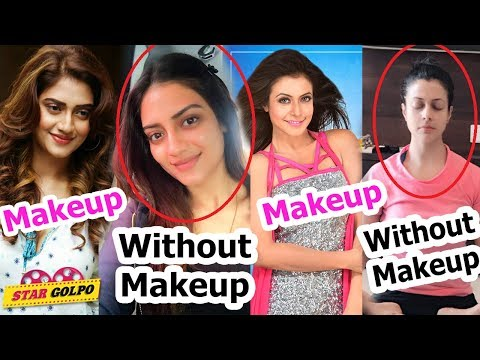 মেকআপ ছাড়া কেমন দেখতে ভারতীয় বাংলা নায়িকারা ? Bengali Actresses Who Look Without Makeup