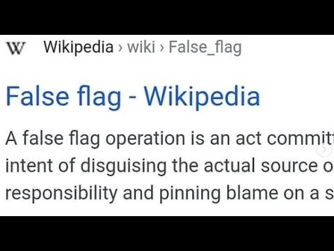 False Flag Events On Jan 16, 2021