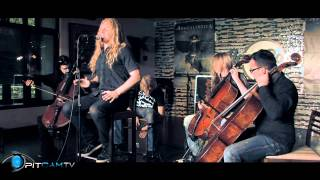 Apocalyptica - Not Strong Enough - acoustic set at Hardrock Cafe | PitCam
