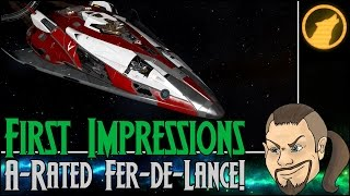 Elite: Dangerous - First Impressions: A-Rated Fer-de-Lance! [Review]