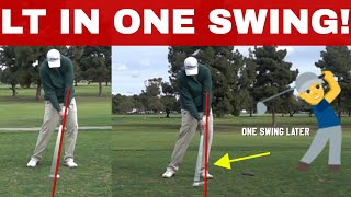 Former Tour Pro helps Amateur Massively improve IMPACT IN ONE SWING Be Better Golf 🏌️ ⛳️
