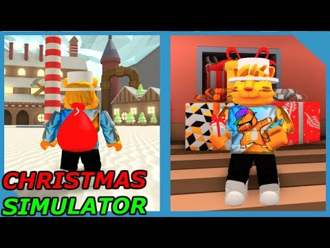 NEW CHRISTMAS SIMULATOR (Roblox The North Pole)