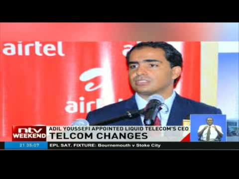 Adil Youssefi appointed Liquid Telcom's CEO