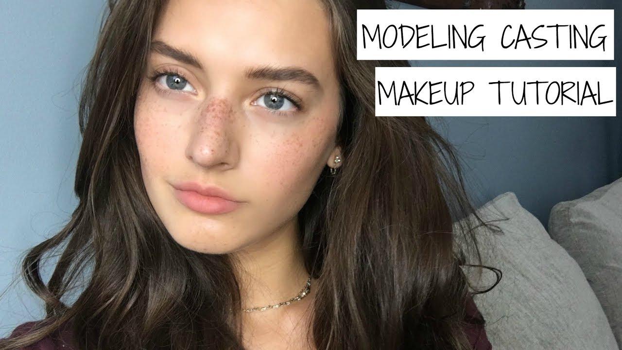 Model Casting Makeup Tutorial Announcements Jessica