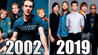 Maroon 5 Evolution of Music [1997-2019]