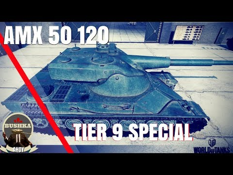 AMX 50 120 TIER 9 SPECIAL WORLD OF TANKS BLITZ