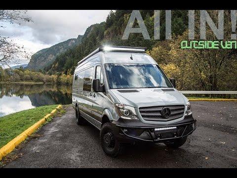 Osv Unicorn 4x4 170 3500 Mercedes Sprinter Youtube