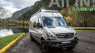 OSV - Unicorn | 4x4 170 3500 Mercedes Sprinter(See into the future of Outside Van conversion magic! We took the 4x4 3500 Mercedes drive-train to a whole new level of custom craftsmanship and next-gen ..., 2016-02-24T21:20:48.000Z)