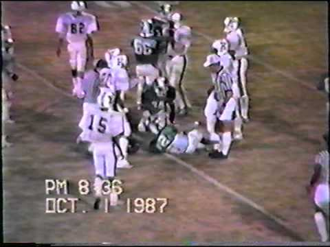 Bennettsville HS Green Gremlins vs Kingstree 1987