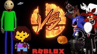 CREEPYPASTA BATTLE ROYALE!!! - Roblox: FIGHTERS NIGHTMARE