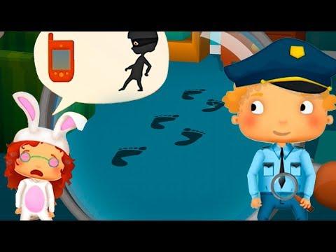 Видео, Мультики про машинки Маленькая ПОЛИЦИЯ и полицейский участок Мультфильмы Игры для детей Мальчиков
